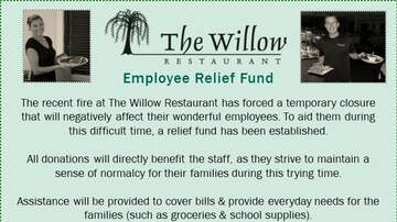 None - The Willow Restaurant Employee Relief Fund