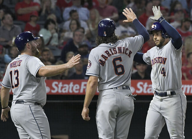 Cole and Marisnick Lead an 11-2 Rout of Angels