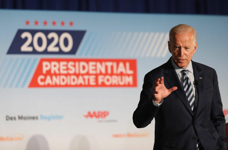 Democratic Presidential Hopefuls Attend AARP Candidate Forums In Iowa