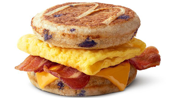 Entertainment News - McDonald's Is Testing Out Blueberry McGriddles Breakfast Sandwiches