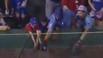 National News - Adult Cubs Fan Snatches Walk-Off Home Run Ball From Two Kids