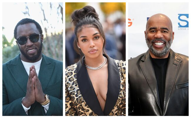 Diddy Romantically Linked To Steve Harvey's 21yr Old Daughter