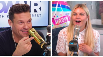 Ryan Seacrest - Ryan Seacrest Pranks Tanya Rad for Birthday Surprise: Watch