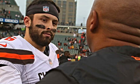 The Herd with Colin Cowherd - Hue Jackson Says He's Not Bothered By Baker Mayfield's Criticisms