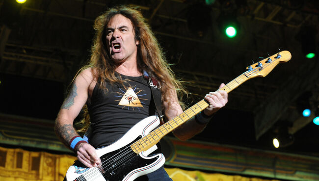 Steve Harris of the legendary British ro