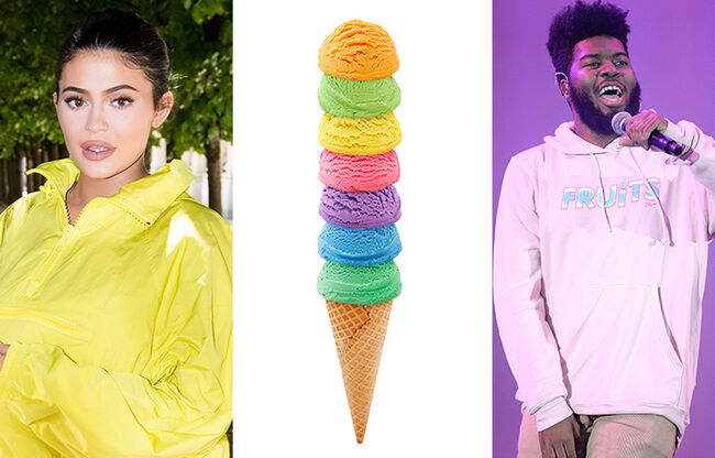 Here's The Scoop On Ice Cream Inspired Celebrity Fashion