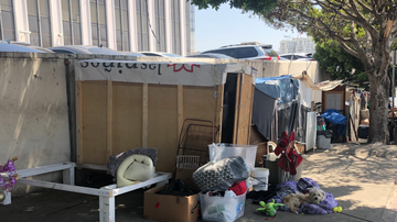 Local News - Homeless People Sue City of L.A. Over Claims of Property Confiscation