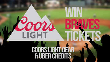 None - Win Braves Tickets & Prizes from Coors Light!