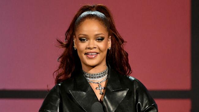 Rihanna Nabs Pharrell, DJ Khaled & Seth Meyers For Diamond Ball