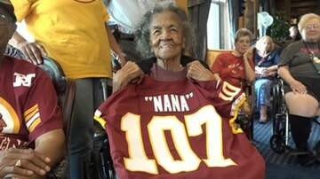 Lori - Redskins Throw 107 Year Old Lifelong Fan A Surprise Birthday Party!