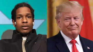 Trending - President Donald Trump Speaks In Support Of ASAP Rocky