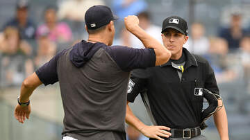 Lance McAlister - Aaron Boone suspended and fined for tirade against home plate umpire