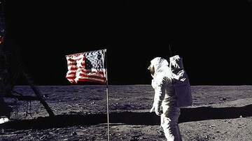image for Apollo Astronauts On The Moon And Doing Fun Stuff, Falling Down!