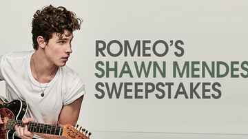 Contest Rules - Romeo's Shawn Mendes Sweepstakes Rules