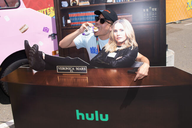 """Hulu's """"Veronica Mars"""" Coolhaus Activation at 2019 Comic-Con International"""