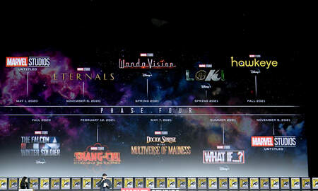 Trending - Marvel Studios Announces Five New Disney+ Series: Hawkeye, Loki And More!