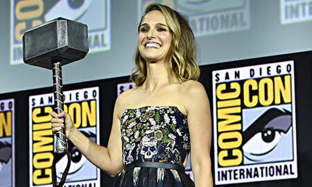 Entertainment News - Natalie Portman Announced To Play Marvel's First-Ever Female Thor