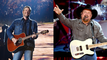 Headlines - Garth Brooks Brings Out Blake Shelton For Live Performance Of 'Dive Bar'