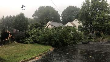 None - VIDEO: Damage In Lynchburg From This Afternoon's Storms