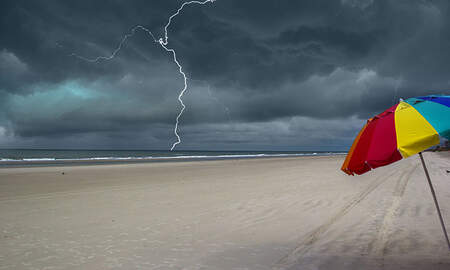 National News - Eight People Injured From Lightning Strike On Florida Beach