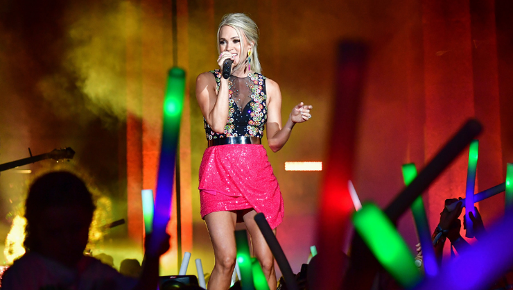 Carrie Underwood Reveals Why You'll Never Catch Her In A