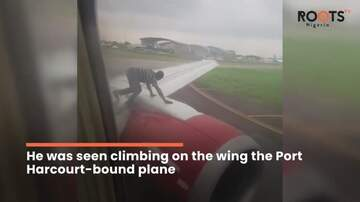 Aviation Blog - Jay Ratliff - Security Staff Suspended After Man's Antics On Plane's Wing Causes Panic