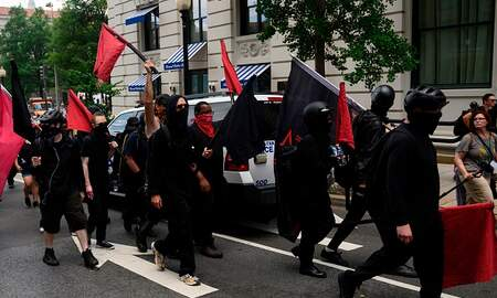 The Pursuit of Happiness - Proposed Senate Bill: Is Antifa a Terror Group?