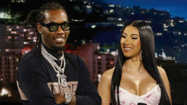 Cardi B Gets Offset's Name Tattooed On Her Body