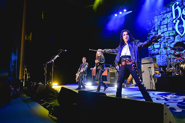 The Hollywood Vampires Perform At The Greek Theatre