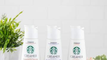 Entertainment News - Starbucks Launching Its Own Flavored Coffee Creamers Next Month