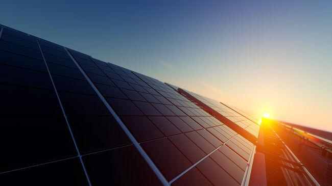 Solar Panels in Dim Light