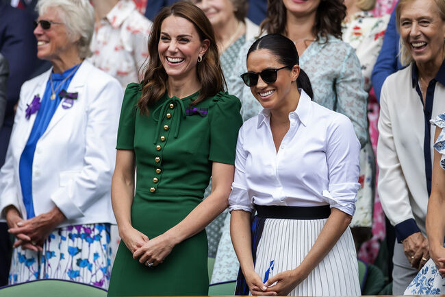 How Meghan Markle & Kate Middleton Helped Each Other Gain Confidence