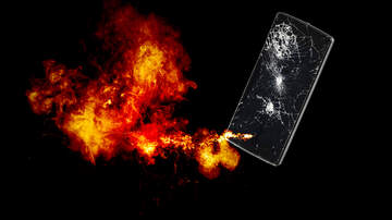 Sarah the Web Girl - Cell Phone Caused Fire at Hackettstown Medical Center