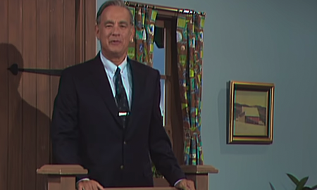 Entertainment News - See Tom Hanks As Mister Rogers In 'A Beautiful Day In The Neighborhood'