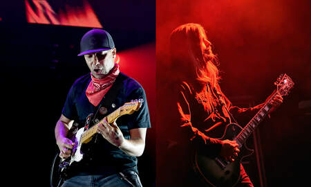 Trending - Tom Morello Recalls How TOOL's Adam Jones Helped Him Join His First Band
