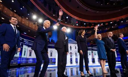 None - The 2nd Democratic Debates are on Real Talk 910