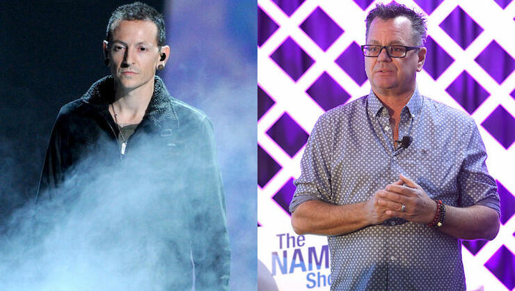 Kevin Lyman Teases Project With Chester Bennington's Widow Talinda | iHeartRadio