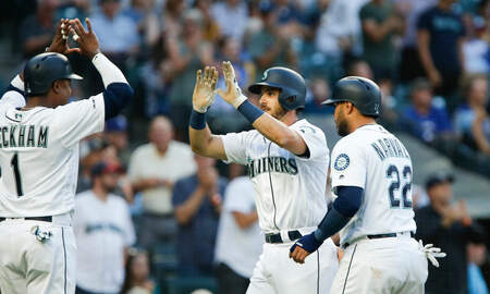 Sports Desk - Mariners Extend Rangers' Skid To Eight