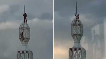 Corey & Patrick In The Morning - HOLY SH*T! Two Teens Climb to Top of Sydney's AWA Tower