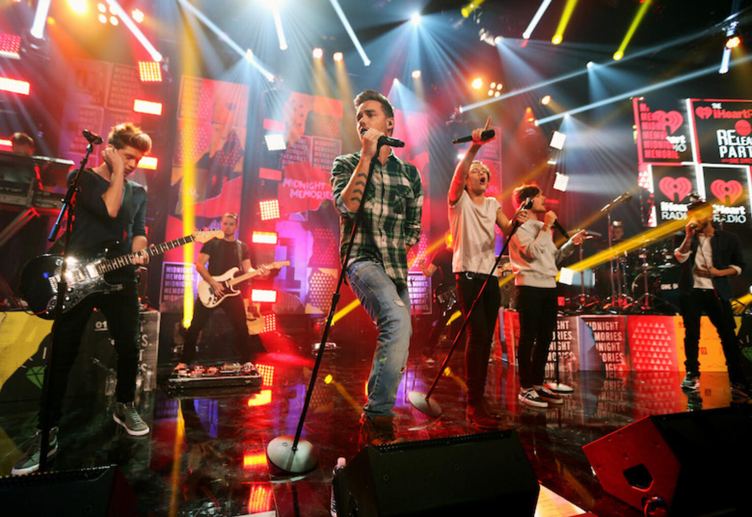 """The """"One Direction iHeartRadio Album Release Party"""" Hosted By Ryan Seacrest At The iHeartRadio Theater Los Angeles"""