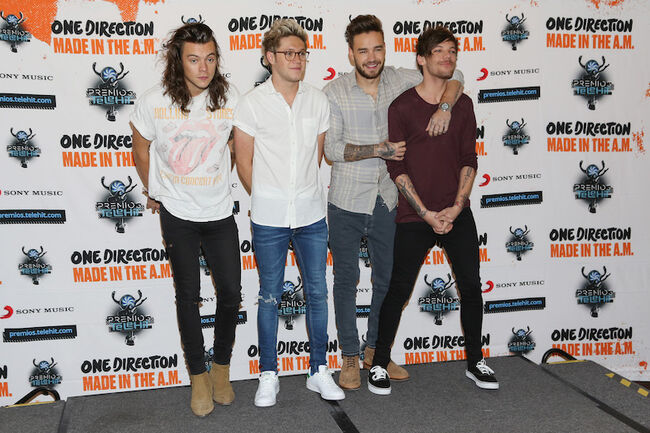 One Direction Mexico City Press Conference