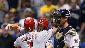 Lance McAlister - Listen: Marty calls Eugenio Suarez game winning homer for Reds