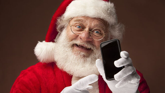 Real Santa Claus Portrait