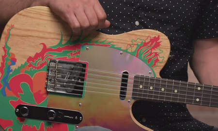 Rock News - Fender Unveils New Edition Of Jimmy Page's Dragon Guitar