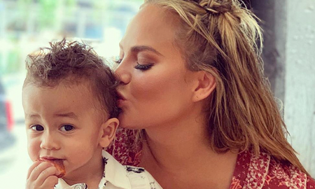 Entertainment News - Chrissy Teigen's 14-Month-Old Son Miles Takes His 'First Real Steps'