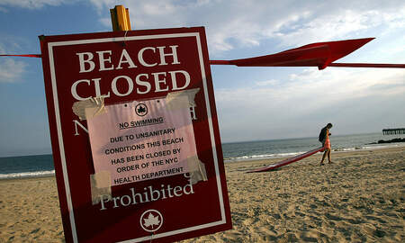 Weird, Odd and Bizarre News - New Report Exposes America's Dirtiest Beaches Just in Time For Summer