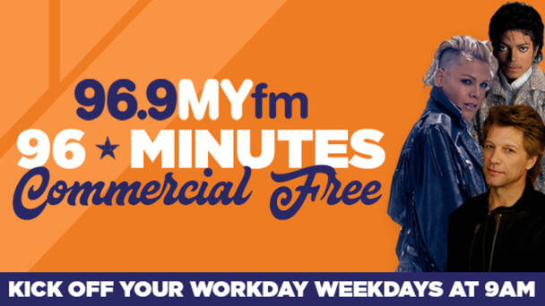 96 Minutes Commercial Free - Tune In!