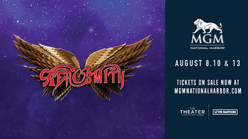 Featured - Elliot in the Morning Night Out with Aerosmith at MGM National Harbor