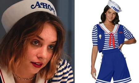 Suzette - 'Stranger Things' Scoops Ahoy Halloween Costumes Have Already Arrived