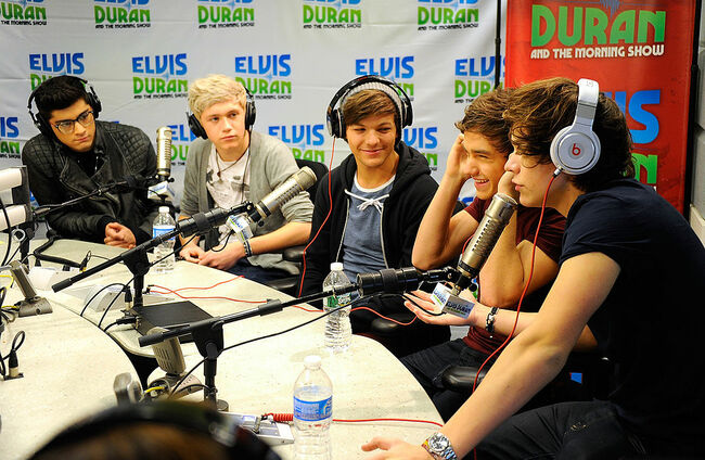 "One Direction Visits ""The Elvis Duran Z100 Morning Show"""